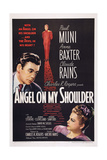 Angel on My Shoulder, from Left: Paul Muni, Claude Rains, Anne Baxter, 1946 Plakater