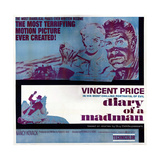 Diary of a Madman, Nancy Kovack, Vincent Price, 1963 Plakater