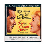 Lover Come Back, from Left: Rock Hudson, Doris Day, 1961 Posters