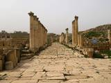 The South Decumanus, the East-West-Oriented Road of Jerash, Jordan, 2nd-1st C. B.C. Posters
