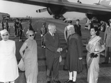 President Harry Truman Welcomes the Prime Minister of India, Jawaharlal Nehru Photo