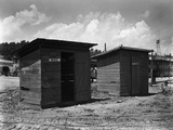 Separate But Equal Privies for the Construction Workers at Clinton Engineer Works, 1943 Photo