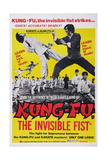 Kung-Fu, the Invisible Fist, Ca. 1974 Prints