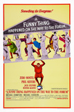 A Funny Thing Happened on the Way to the Forum, 1966 Art