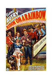 Ridin' on a Rainbow, Center: Gene Autry, 1941 Art
