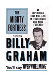 The Mighty Fortress, Rev. Billy Graham, 1955 Art