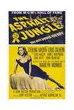 The Asphalt Jungle, 1950 Plakater