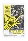Secret Agent Fireball, 1965 Kunst