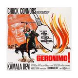 Geronimo!, (Aka Geronimo), Chuck Connors, 1962 Prints