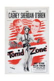 Torrid Zone, from Left: James Cagney, Ann Sheridan, Pat O'Brien, 1940 Art