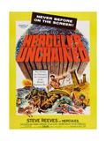 Hercules Unchained, (Aka Ercole E La Regina Di Lidia), Steve Reeves, 1959 Prints