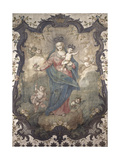 Processional Banner, Madonna of the Rosary 1780-99 Poster