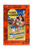 The Veils of Bagdad, from Left: Victor Mature, Mari Blanchard, Virginia Field (Rear), 1953 Prints