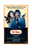 St. Ives, from Left: Jacqueline Bisset, Charles Bronson, 1976 Prints