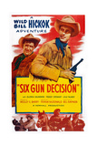 Six Gun Decision, from Left: Andy Devine, Guy Madison, 1953 Prints