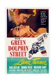 Green Dolphin Street, Richard Hart, Lana Turner, Van Heflin, 1947 Poster