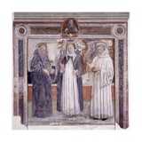 Blessed Beatrice D'Ornacieux and Two Saints Art