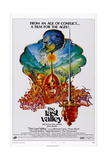 The Last Valley, from Top: Omar Sharif, Michael Caine, 1971 Print