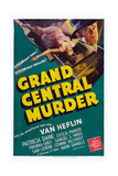 Grand Central Murder, Van Heflin, 1942 Print