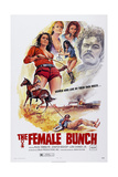 The Female Bunch, Russ Tamblyn (Right), 1969 Print