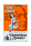 Operation Snafu, Top Right: Sean Connery, 1961 Giclée-tryk
