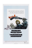 Jeremiah Johnson, Robert Redford, 1972 Giclee Print