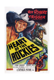 Heart of the Rockies, Roy Rogers, Trigger, 1951 Posters