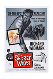 The Secret Ways, Richard Widmark (Top), in Box from Left: Senta Berger, Richard Widmark, 1961 Prints