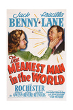 The Meanest Man in the World, from Left: Priscilla Lane, Jack Benny, 1943 Giclee Print
