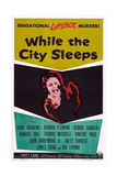 While the City Sleeps, 1956 Prints