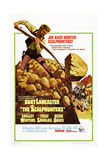 The Scalphunters, Burt Lancaster, 1968 Posters