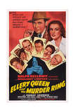 Ellery Queen and the Murder Ring Prints