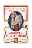 The Count of Monte Cristo, Robert Donat, 1934 Prints