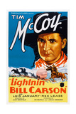 Lightnin' Bill Carson Art: Tim Mccoy, 1936 Posters