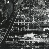 1956 Aerial Photograph of Love Canal Showing a School and Houses Built over and Near a Landfill Photo