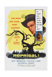 Reprisal!, Insert, from Left: Guy Madison, Felicia Farr, 1956 Posters