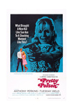 Pretty Poison, L-R: Anthony Perkins, Tuesday Weld, 1968 Posters