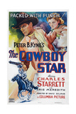 The Cowboy Star, from Left: Charles Starrett, Iris Meredith, 1936 Giclee Print