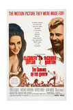 The Taming of the Shrew, from Left: Elizabeth Taylor, Richard Burton, 1967 Giclee Print