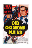 Old Oklahoma Plains, Rex Allen (Top Right), 1952 Prints