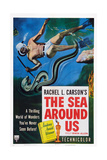 The Sea around Us, 1953 Kunstdrucke