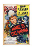 Home in Oklahoma, 1946 Print