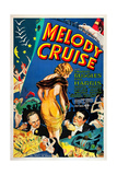 Melody Cruise, from Left: Charles Ruggles, Helen Mack, Phil Harris, 1933 Posters