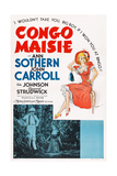 Congo Maisie, Bottom from Left, John Carroll, Ann Sothern, 1940 Posters