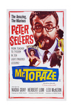 Mr. Topaze, Top: Peter Sellers, Bottom Left: Nadia Gray, 1961 Prints