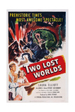 Two Lost Worlds, Bottom from Left: Bill Kennedy, Laura Elliott (Aka Kasey Rogers), 1951 Print