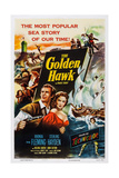The Golden Hawk, from Left: Sterling Hayden, Rhonda Fleming, 1952 Giclee Print