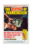 The Revenge of Frankenstein, (Aka La Revanche De Frankenstein), Top: Michael Gwynn, 1958 Prints