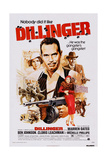 Dillinger, from Left: Michelle Phillips, Warren Oates, Ben Johnson, 1973 Poster