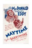 Maytime, Jeanette Macdonald, Nelson Eddy, 1937 Art